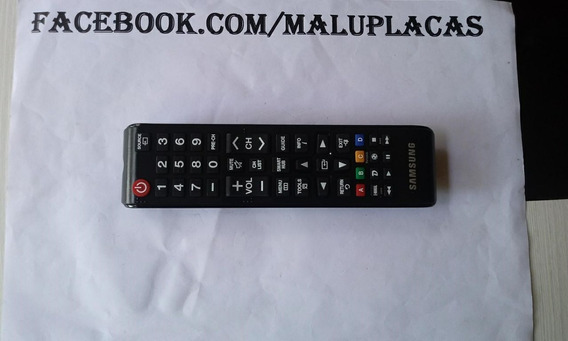 Controle Remoto Tv Samsung Un32j4300 - Divs/model - (ref684)