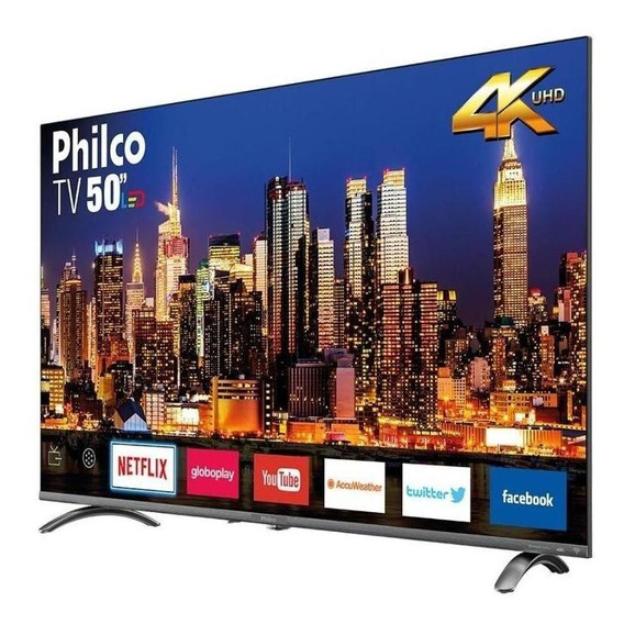Smart Tv Philco 50 Led Ultra Hd 4k Ptv50q20snbl