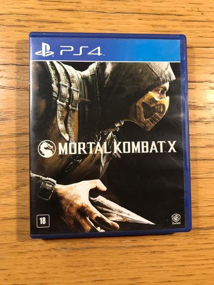 Jogo Ps4 - Mortal Kombat X (mídia Física) Envio Imediato