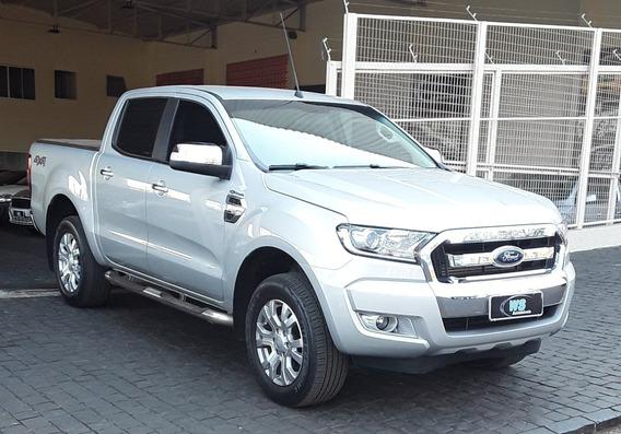 Ford Ranger Xlt 3.2 Prata 2019