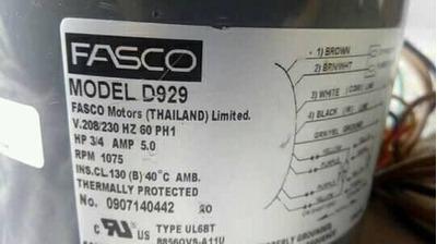 Motor Fasco