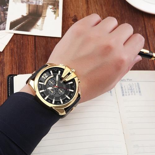 curren 8176 Relojes Para Hombre De Cuarzo De Marca De Lujo