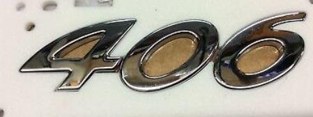 Monograma Baul Peugeot 406