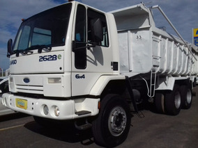Ford Cargo 2628e 6x4 C/ Caçamba 14mt² 2007/2008
