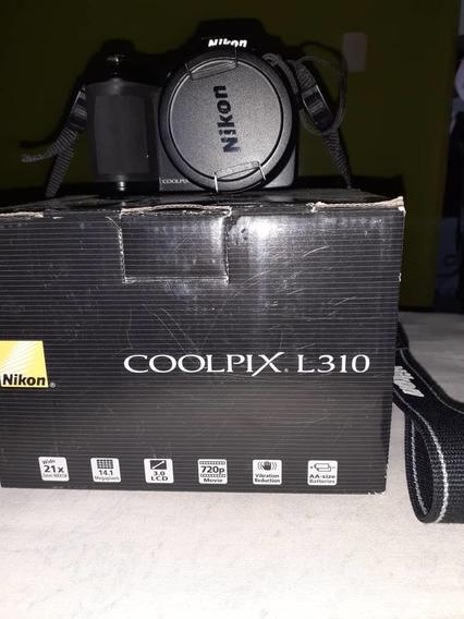 Cámara Fotográfica Nikon Coolpix L310. Lea La Descripción.!