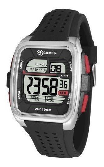 Relógio De Pulso Masculino Preto X-games Cód. Xgppd104