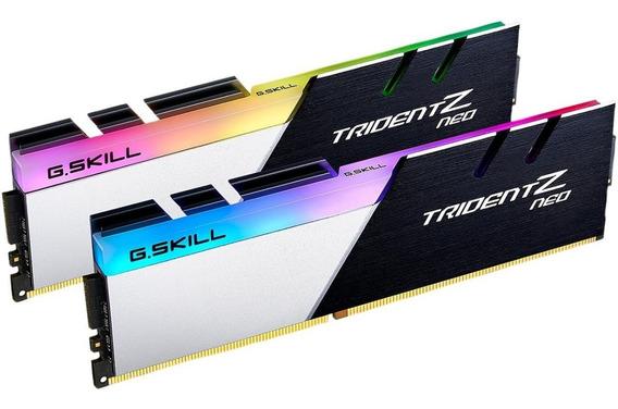 G.skill Tridentz Rgb Neo 16gb (2x8gb) 3200mhz Ryzen/ Intel