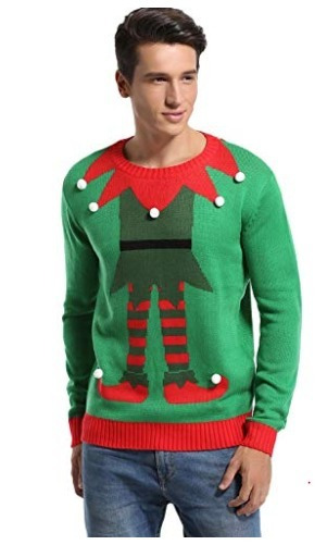 Ugly Sweater Navidad Hombre/unisex