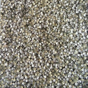 1.000 Tachinhas De Metal Cor Branca 1,5mm