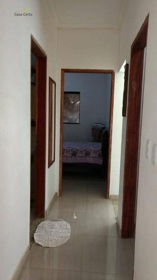 Casa Residencial À Venda, Jardim Santa Cruz, Mogi Guaçu. - Ca0997