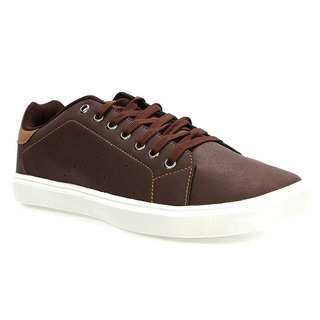 Sapatênis Masculino Casual Marrom San Remo As002