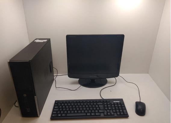 Kit De Computador Hp Compaq/mouse/teclado/monitor 17