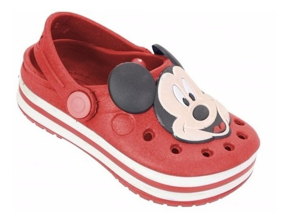 Sapato Babuche Infantil Yuupiii Ratinho Mikey Escolar