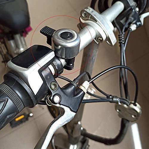 para adultos y ni/ños 4 colores de aleaci/ón de aluminio sonido fuerte y claro para la mayor/ía de bicicletas NA// Juego de 2 campanas de bicicleta cl/ásicas