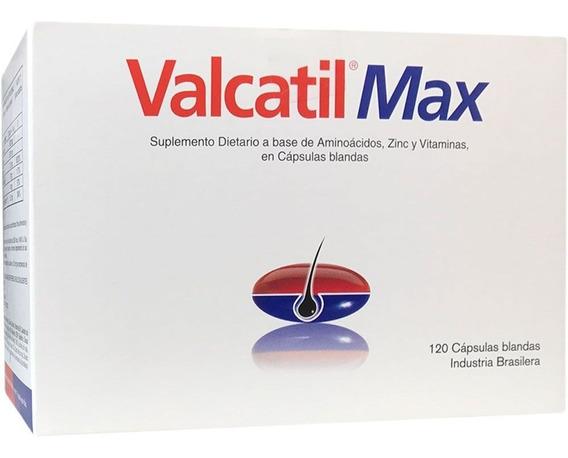 Valcatil Max X120 Caps. Blandas Para La Caída Del Cabello