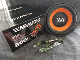 Subwofer Waraudio 12 Doble Bobina 800 Watts Rms