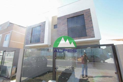 Sobrado À Venda, 47 M² Por R$ 220.000,00 - Alto Boqueirão - Curitiba/pr - So1020