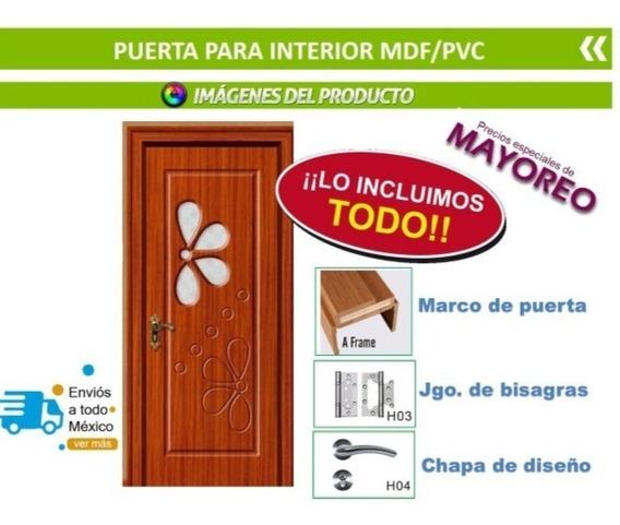 Puerta De Material Mdf/pvc