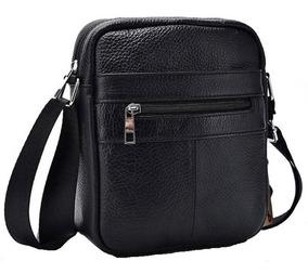 Bolsa Bag Couro Ecológico Impermeável E Tiracolo. Ref: 449