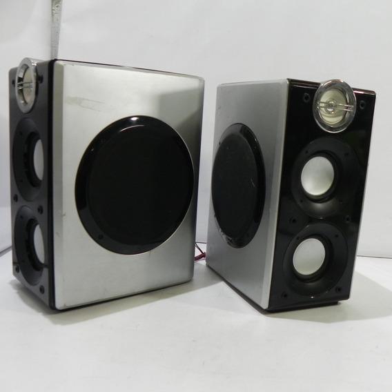 2 Caixas De Som Do Micro Audio System Lg Lfs-u850 Usado