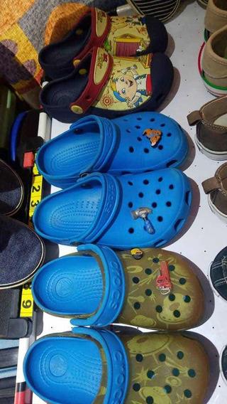 Venta De Zapatos Para Niños Usados .crocs Converse Náutica