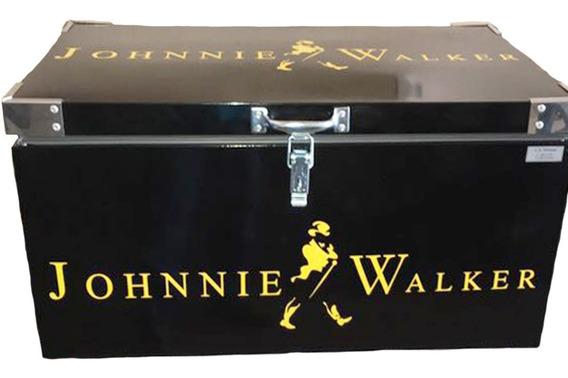 Caixa Térmica Johnnie Walker 120 Litros Galvanizada