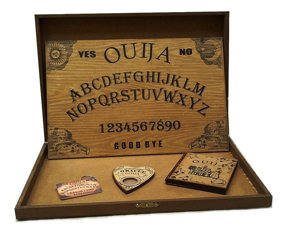 Tabuleiro Ouija- Jogo - Kit Ouija