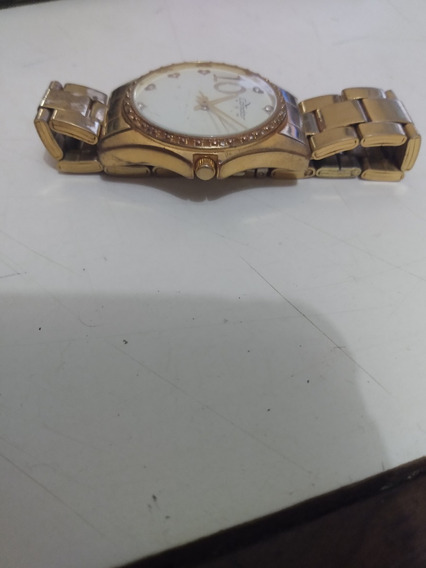 Relógio Feminino Orig.condor Dourado Perfeito Envio T.brasil
