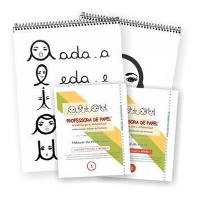 Kit Alfabetização Econômico Nível 1 (em Papel Reciclado)