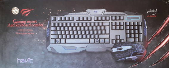 Kit Gamer Teclado + Mouse Rgb Havit Hv-kb550cm