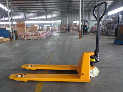 Porta Pallet - Stocka Capacidad 2500 Kg Transpaleta Manual