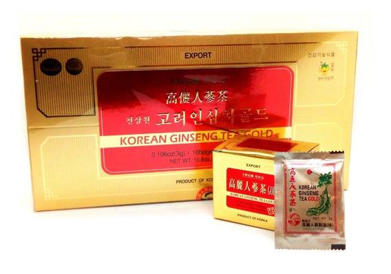 Combo 2 Cajas Te De Ginseng Korean + Envio Gratis