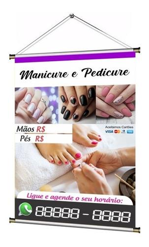 Banner Pronto Manicure E Pedicure