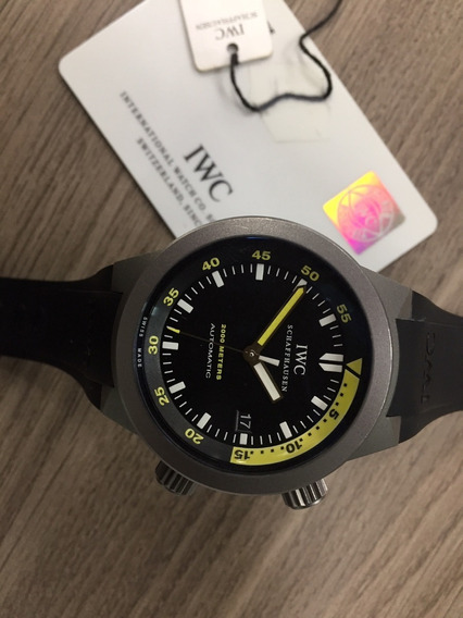 Relógio Iwc Aquatimer Automatic 2000 Ref. Iw353804