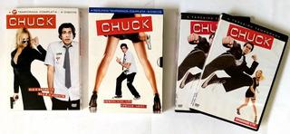 Chuck 1 2 E 3 Temporadas Completas - Original
