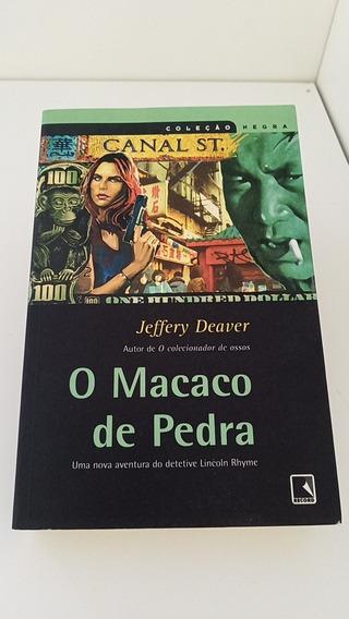 Livro O Macaco De Pedra - Jeffery Deaver