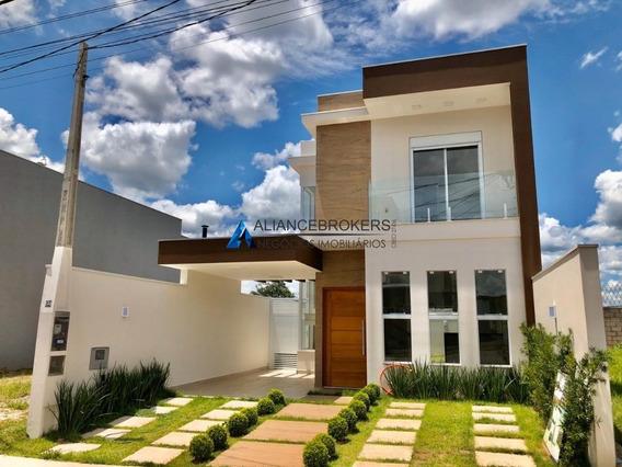 Oportunidade: Sobrado 142 M², 3 Dormitórios (1 Suite), Condomínio Reserva Da Mata. - Ca01734 - 34849209