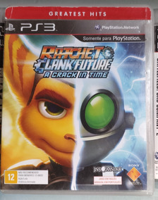 Ratchet & Clank Crack In Time® Ps3 Mídia Física- Frete R$10