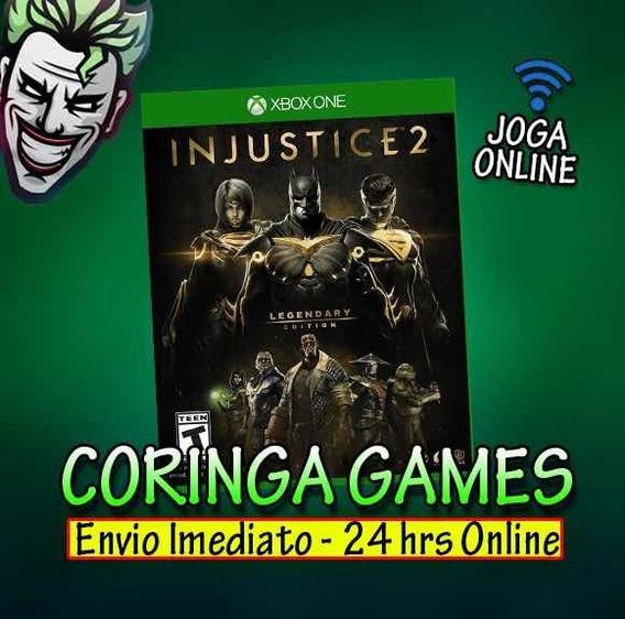 Injustice 2 Edição Lendária Xbox One Midia Digital + 2 Jogos