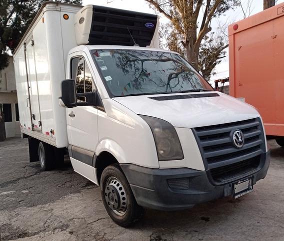 Camioneta Vw Crafter Para 5 Tons. Año 2014 Caja Refrigerada