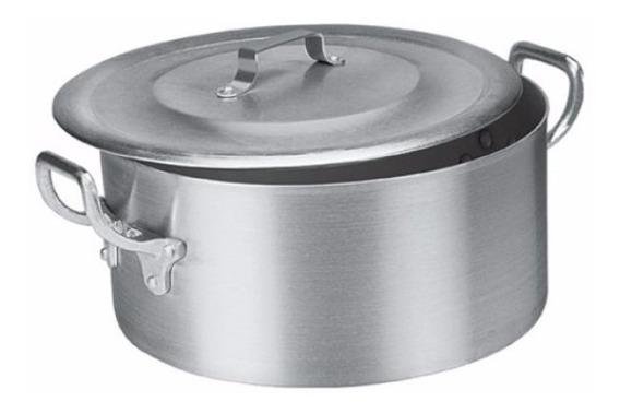 Caçarola Aluminio Industrial N.36 17,0 L Restaurante 1489902