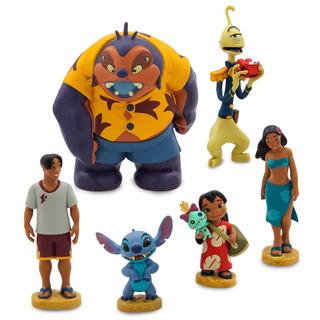 Set Figuras X 6 Lilo & Stitch A2739