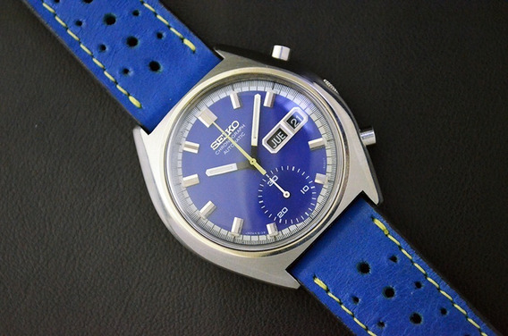 Vintage Seiko Chronograph 6139-8030 - Aquastar - Lindo