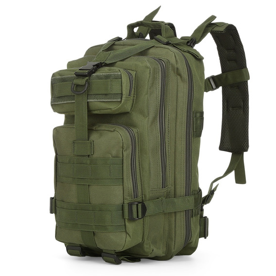 Mochila Oxford Molle 30l Bolsa Laptop Deportiva Militar Dura