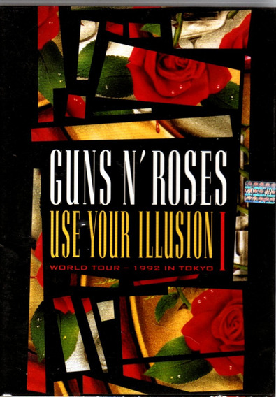Guns N Roses - Use Your Illusion I World Tour - Dvd Original