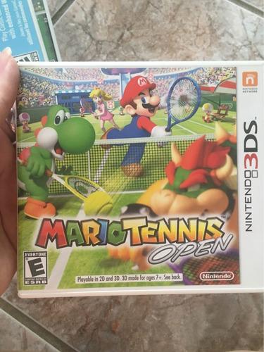 Imagem 1 de 1 de Mario Tennis Open - Nintendo 3ds