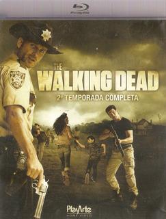 Blu-ray Duplo The Walking Dead - 2° Temporada - Semi Novo***