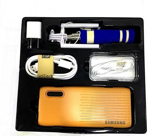 Kit Samsung Celular Power Bank 12000 Manolibre Cargador Taco