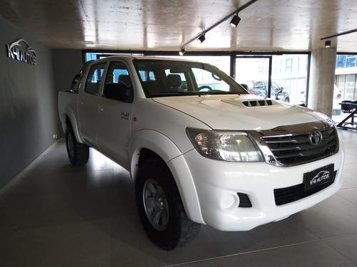 Toyota Hilux Dc 3.0 Tdi 4x2 Sr 2013 Usada Financiada Tasa
