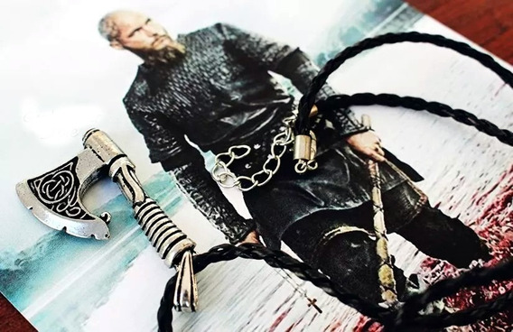 Colar Machado Viking Seriado Vikings Ragnar Lothbrok